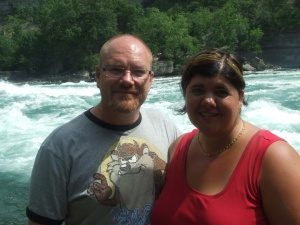 james and I in niagara falls