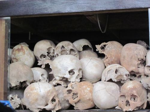 Photo I took at the Killing Fields in Cambodia