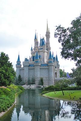 Cinderella's Castle at Walt Disney World Florida
