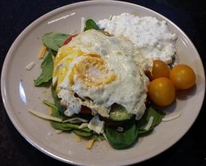 fried edd salad
